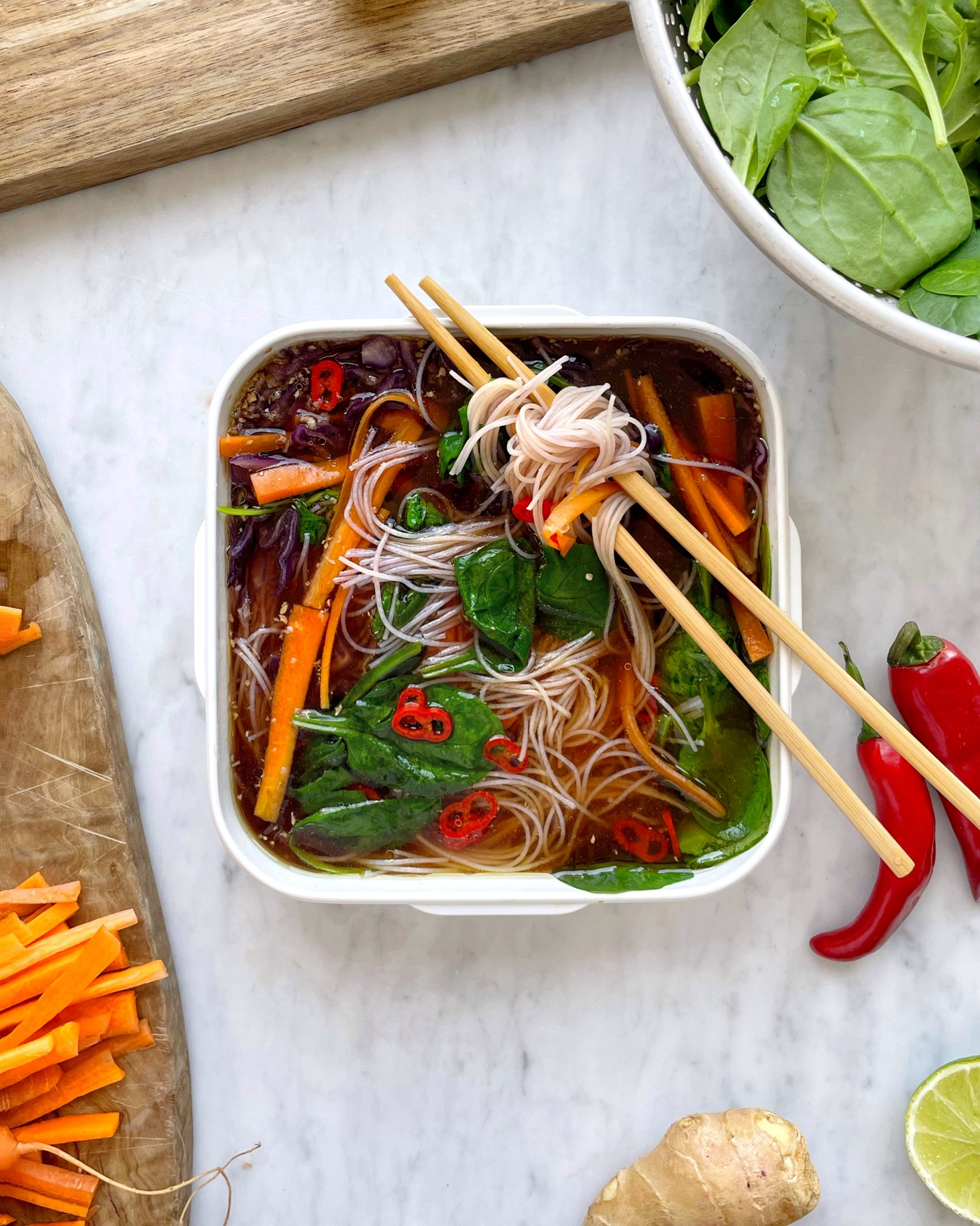 A Quick and simple bento recipe by nutritionist , Jennifer Medhurst